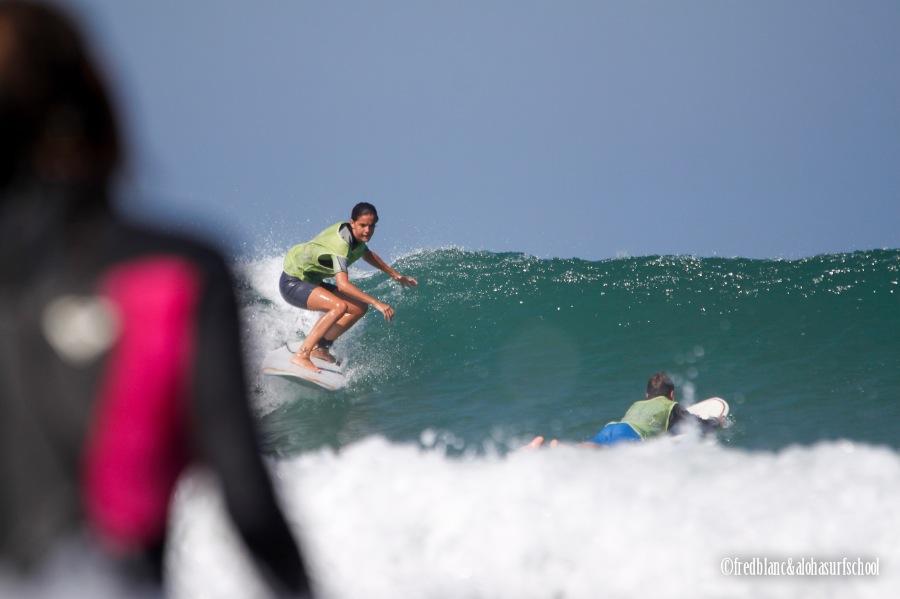 Stage de surf tout niveau à Seignosse avec Aloha Surf School