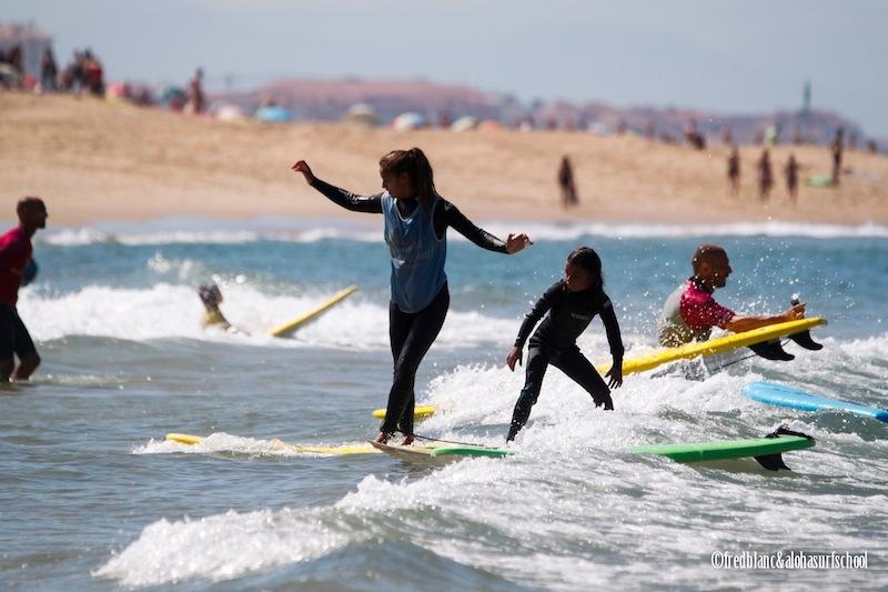 Surfez dans les Landes