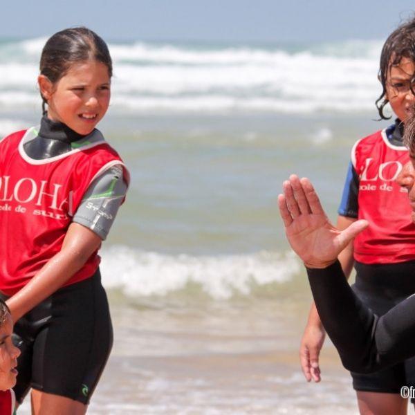 Cours collectif surf à seignosse avec Aloha