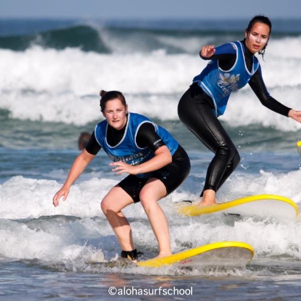 Stage de surf à Seignosse et location de matériel